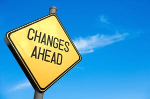 Signpost image to suggest changes coming in IS1 & 2