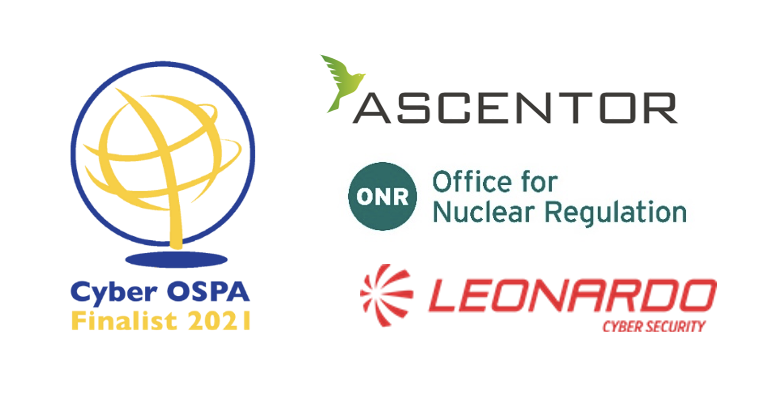 Ascentor nominated as Cyber OSPA finalist 2021